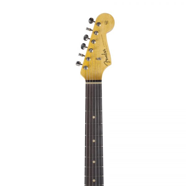 FENDER 1963 Stratocaster Journeyman Relic Closet Classic Super Faded Aged Sonic Blue Custom Shop -7